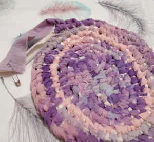 Rag Rug-purple